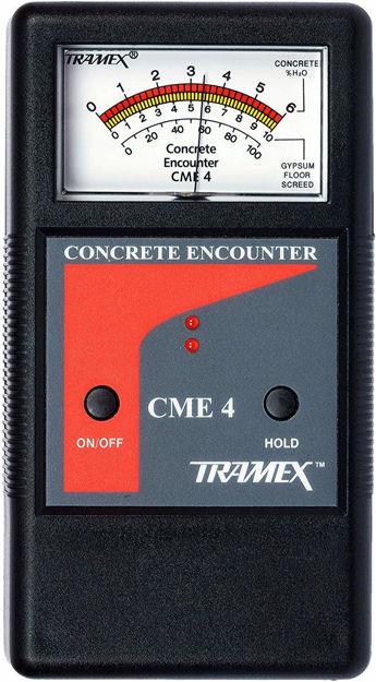 Picture of Tramex CME4 Concrete Encounter Moisture Meter
