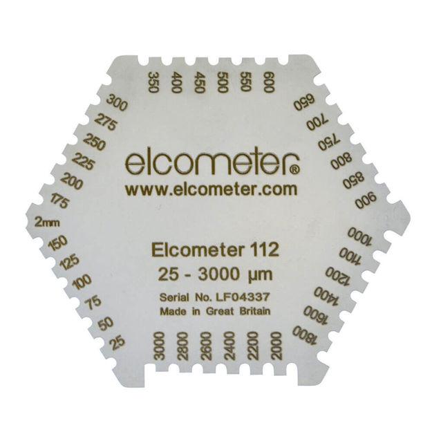 Elcometer 112 Aluminium Wet Film Comb